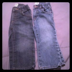 2 pair of 18-24 month jeans
